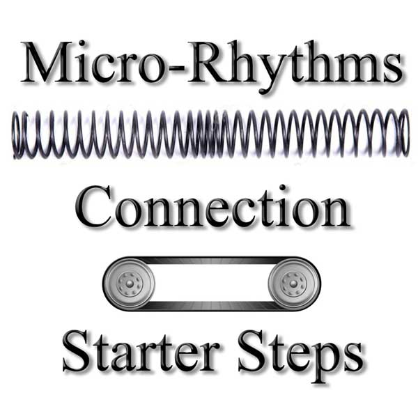 Micro Rhythms Connection and Starter Steps for West Coast Swing