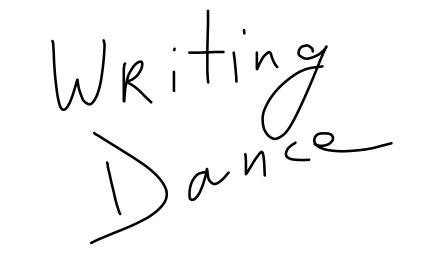 writing dance