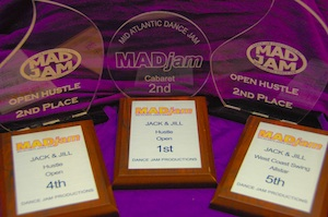 MADjam 2012 Trophies and Awards for Erik & Anna Novoa