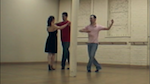 Erik Novoa teaching a private dance lesson