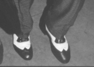 Erik's Spats for Swing Dancing