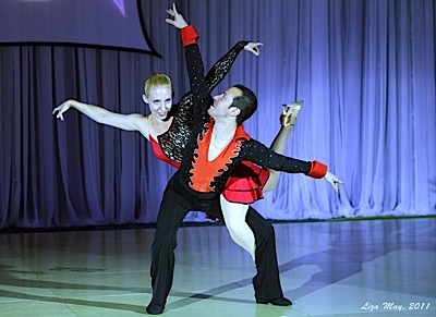 Swing Fling 2011 - Hustle Routine with Erik & Anna Novoa