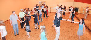 West Coast Swing at Dance Dimensions in Norwalk, CT July 2015