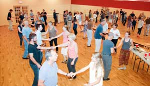 West Coast Swing in Norwalk, CT on August 6, 2015