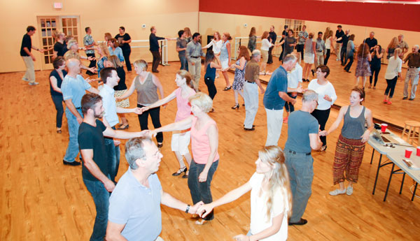 West Coast Swing at Dance Dimensions in Norwalk, CT on August 6, 2015