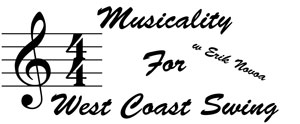 Musicality for West Coast Swing w Erik Novoa