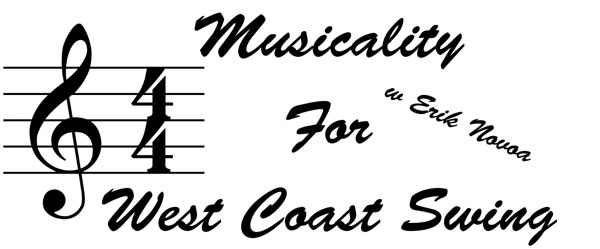 Musicality For West Coast Swing w Erik Novoa in Norwalk, CT on July 16, 2016