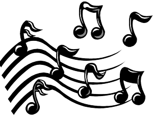 music notes 300px