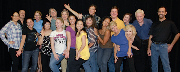 West Coast Swing and Hustle Showcase 2012 Cast