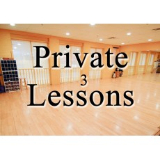 Private Lesson (3 Package, Studio, 60 min each)