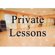 Private Lesson (5 Package)